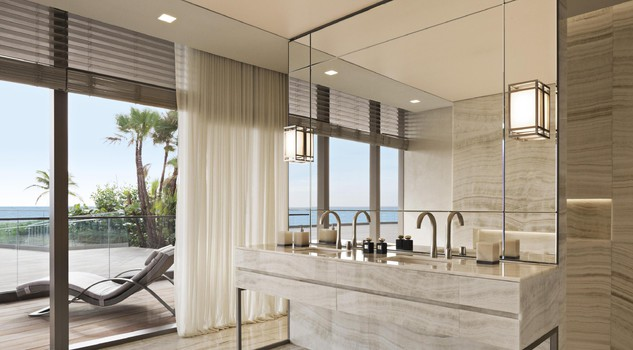 In Designing The Interior Spaces Of This Luxurious Housing Complex Giorgio Armani Was Inspired By Feel Locations Characterized Nature And A