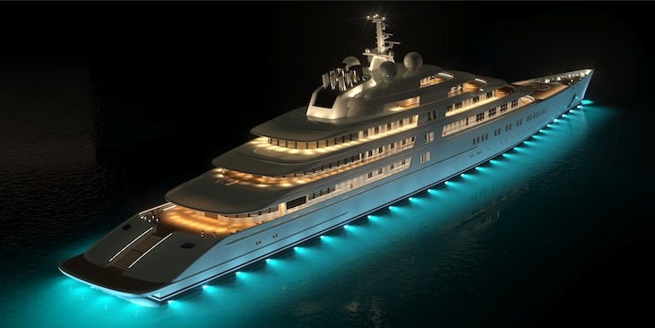 Azzam    600 Million. 6 Most Luxurious Yachts In The World
