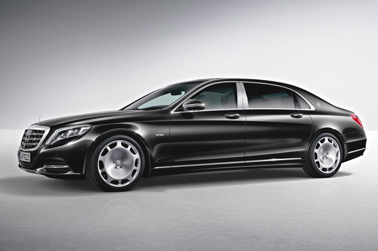 Mercedes–Maybach S-Cl : The Star in the Luxury Segment ...