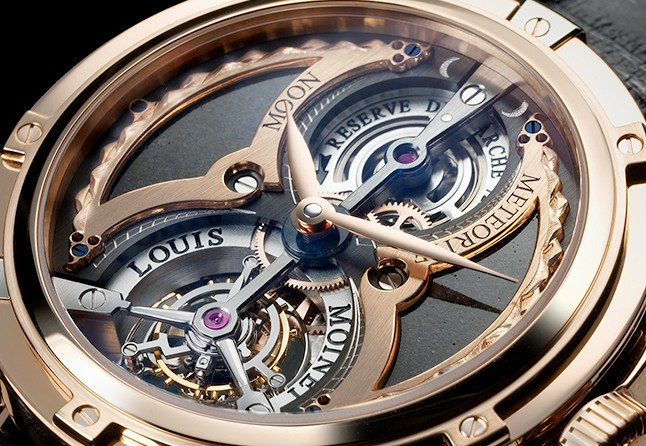 4 6 million watch louis moinet meteoris excellence magazine for Louis moinet watch
