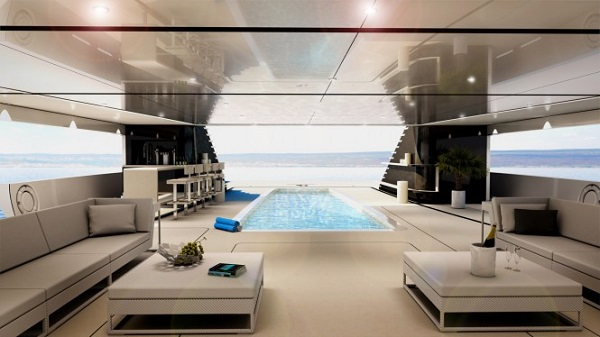 Azzam interior pool
