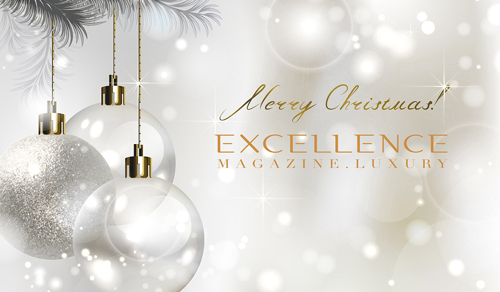 Excellence Magazine wishes you Merry Christamas and Happy New Year ...