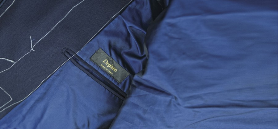 immgine giacca blu