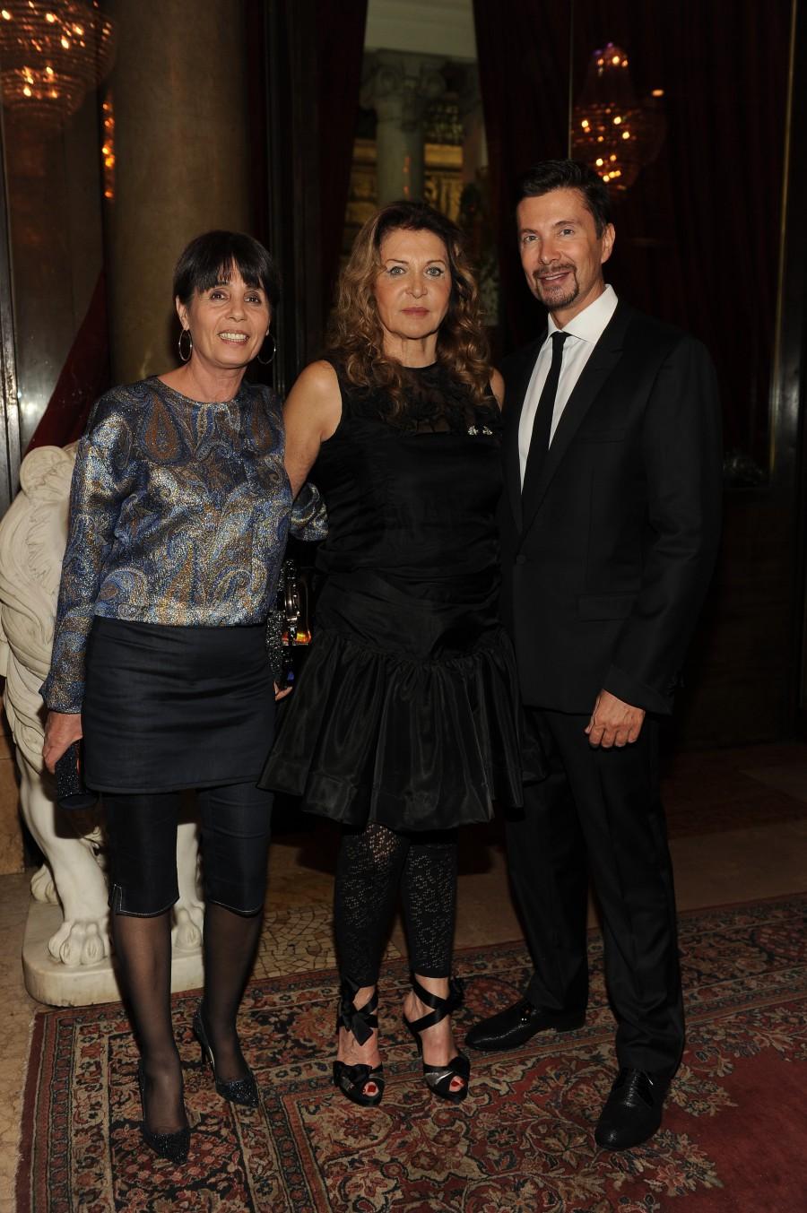Sandra Vezza - Maria Luisa Trussardi - Riccardo Signoretti