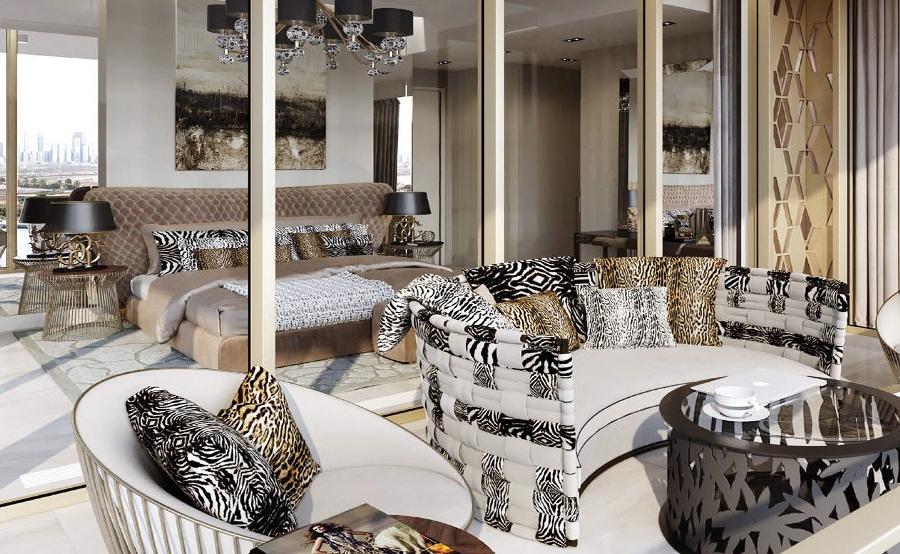 Il lifestyle della maison roberto cavalli nella nuova for Cavalli arredamenti