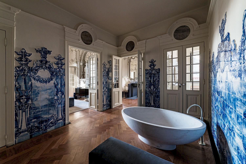 Verride Palácio de Santa Catarina bathroom