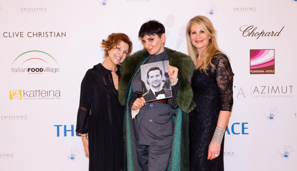 Arisa at The Children for Peace Gala in Milan