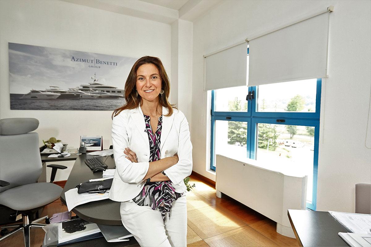 Giovanna Vitelli, Vice Presidente del Gruppo Azimut|Benetti