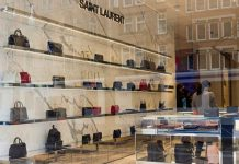 Saint Laurent Via Montenapoleone Milano