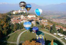 mongolfiere Castello di Masino