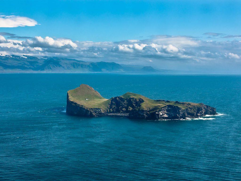 Ellidaey Island Iceland