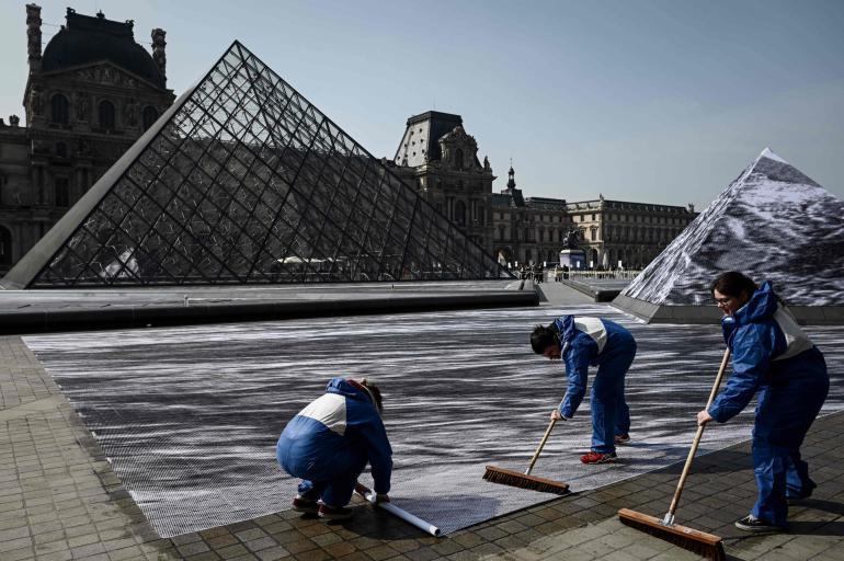 JR Louvre