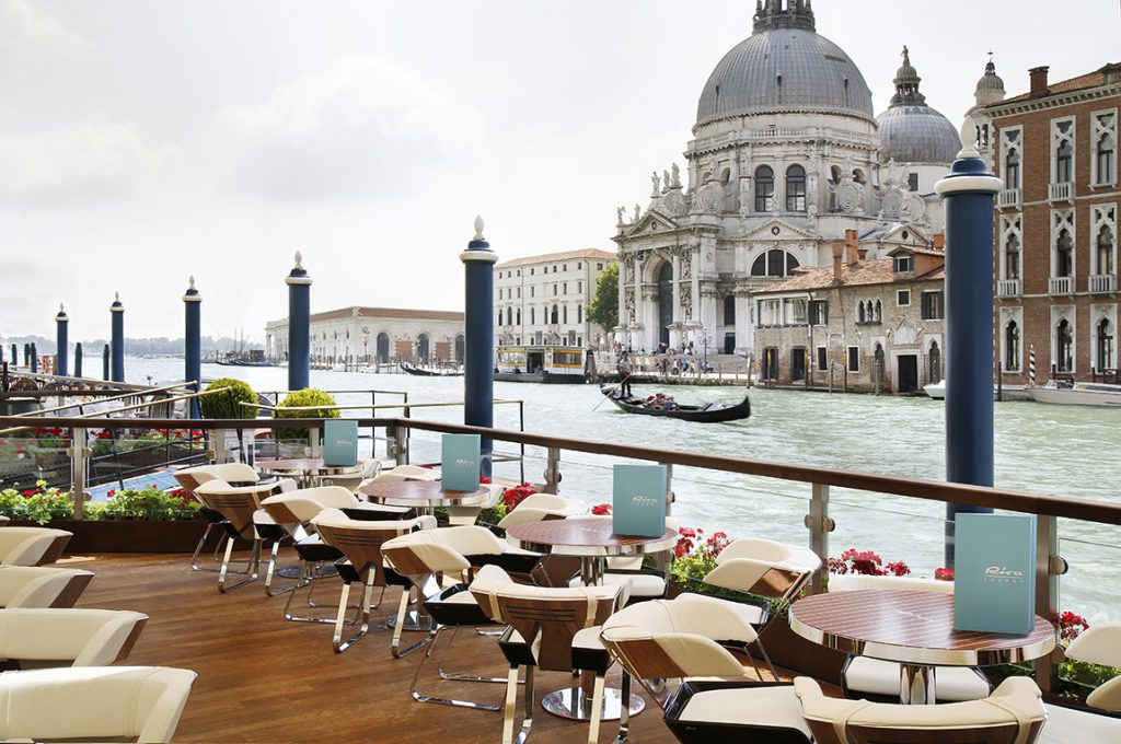 Riva Lounge Gritti Palace in Venice