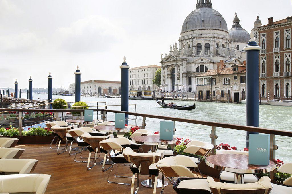 Riva Lounge Gritti Palace in Venice