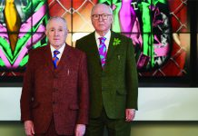 Gilbert & George BRAFA 2019 copyright Fabrice Debatty (3)