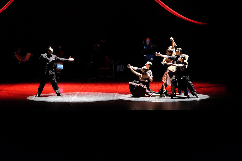 Roberto Herrera EL TANGO Teatro Arcimboldi