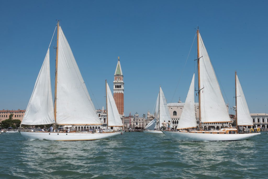 VI Trofeo Principato di Monaco Vele d'Epoca Venezia photo Matteo Bertolin
