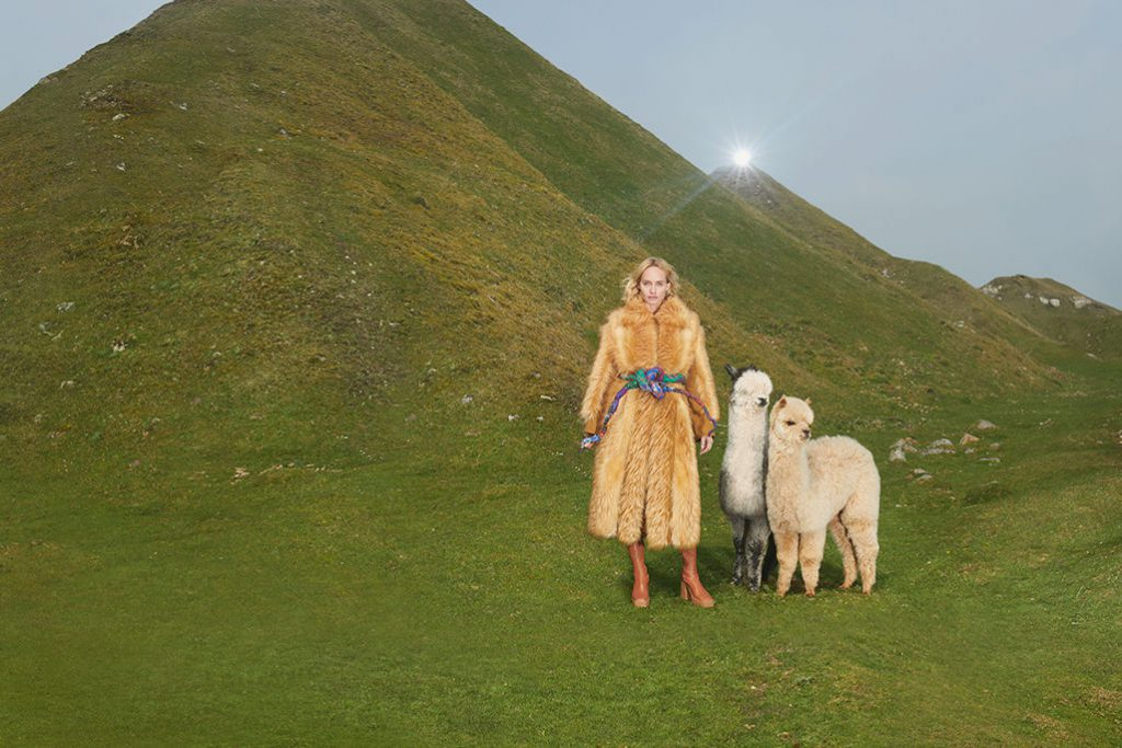 Stella McCartney green fashion choices new ADV campaign