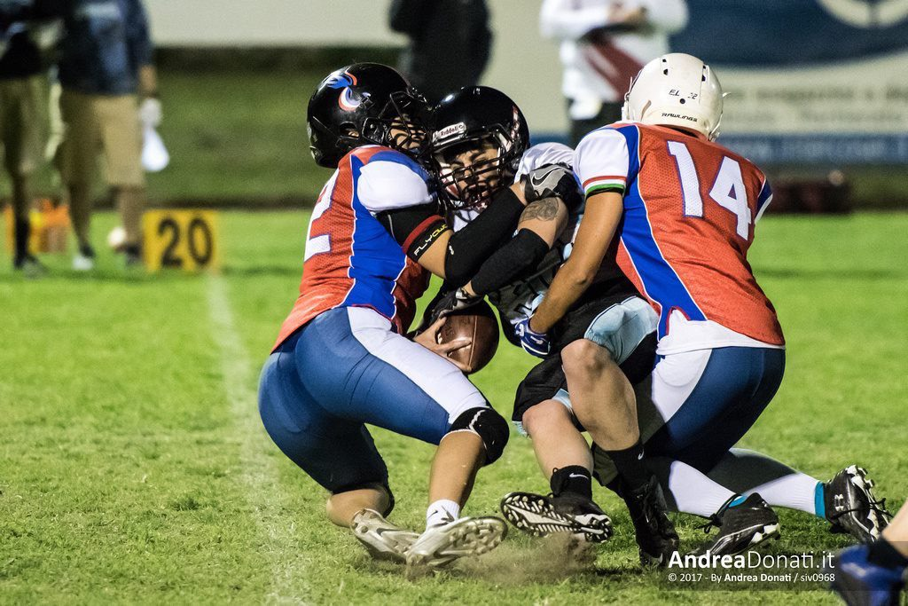 nausicaa dell'orto leader american football italian national team