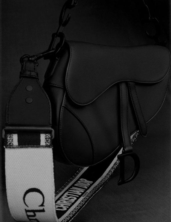 dior ultra black collection icon bag
