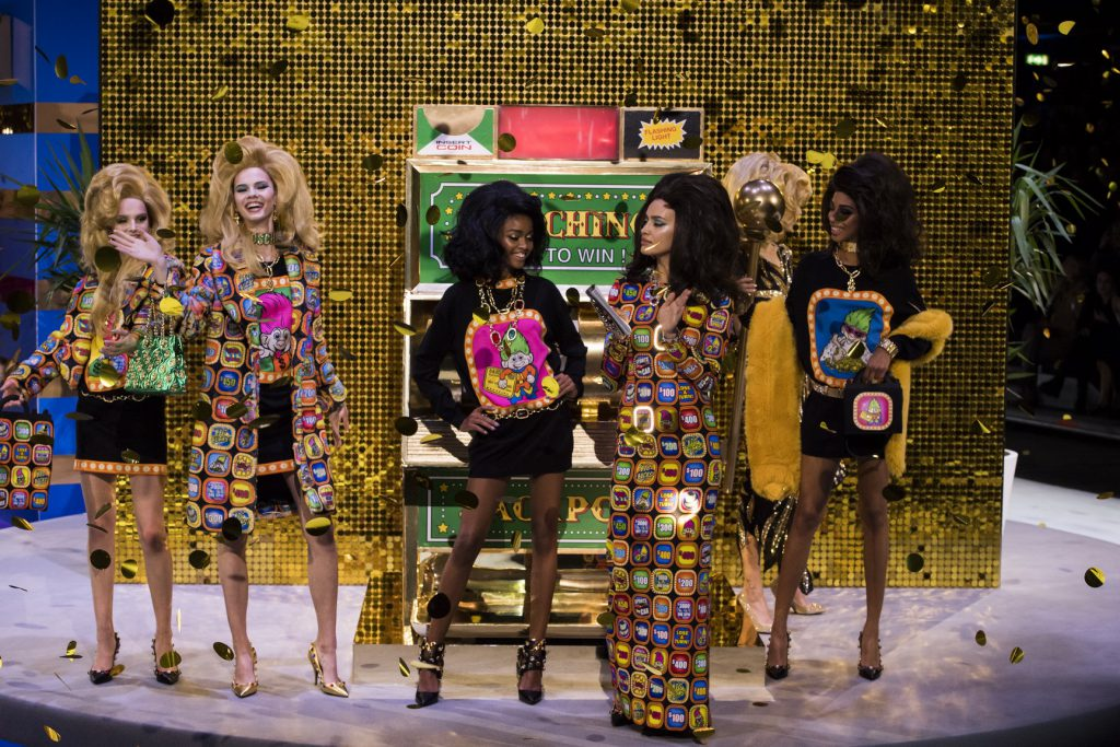 Jeremy Scott Moschino fashion Show Winter 2019/20