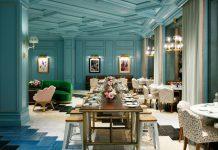 Ken Fulk Sadelle belle epoque dining room