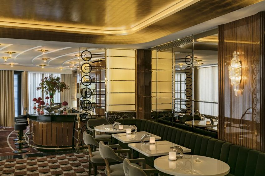 La Maison Du Caviar: Luxury Restaurant Designed by