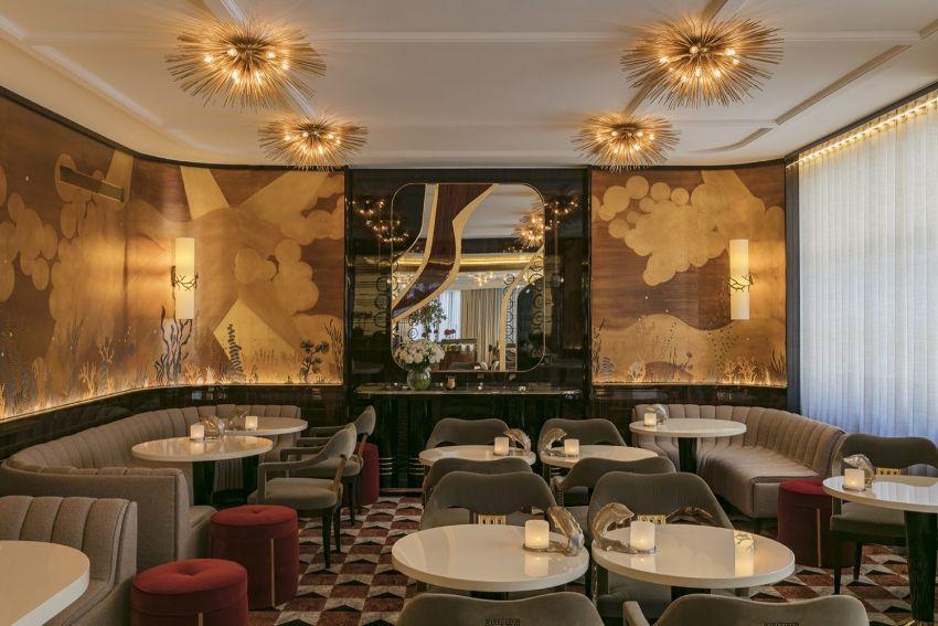 La Maison du caviar Paris fine dinner saloon