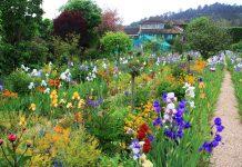 La Maison bleue Jardin de Giverny