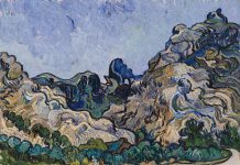 Guggenheim van gogh mountains at saint remy