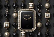 chanel premiere velours timepiece diamonds
