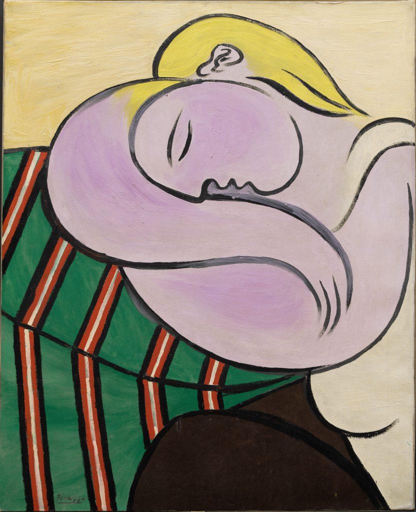 Pablo Picasso Donna con i capelli Gialli