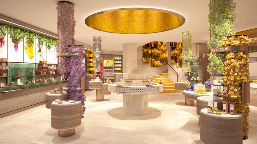 concept store 86 Champs Elysées