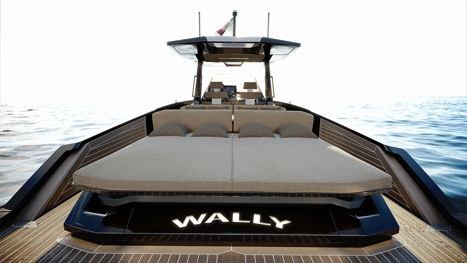 Ferretti WallyTender 48 back