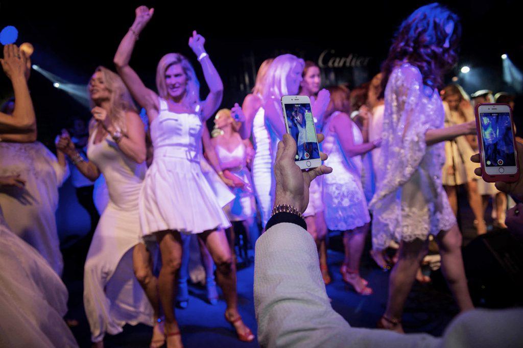 people enjoy during Art Gala Awards