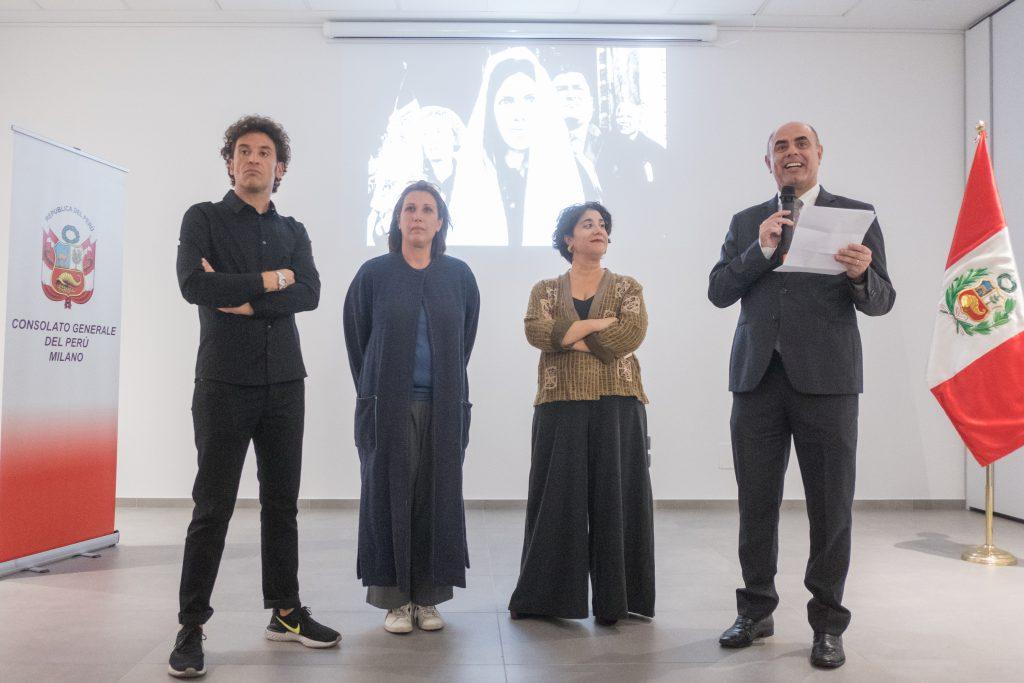 Consolato del Peru Inaugurazione Milano Gallery Weekend