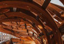 A Futuristic Installation in Tallinn