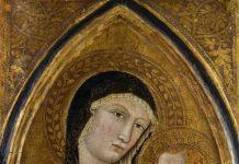 Maestro di Camporgiano, Vierge a l'Enfant