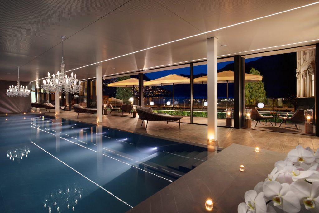Splendide Lifestyle Spa Evening pool