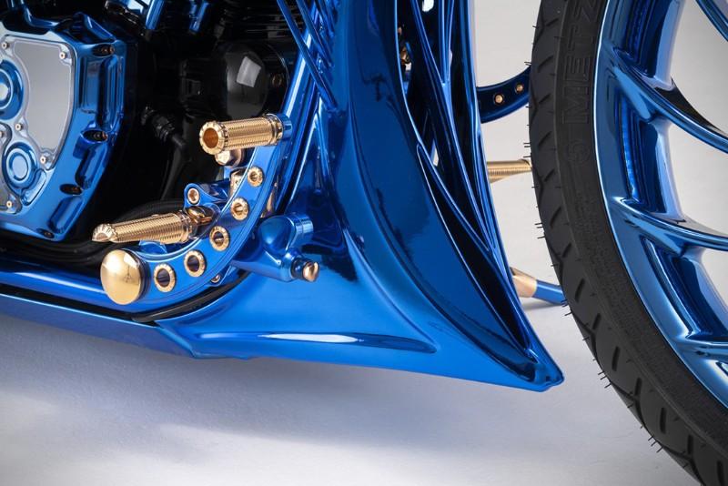 Harley Davidson Blue