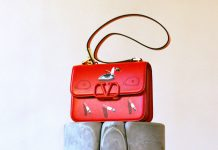 Red Valentino's Bag Villalba art basel