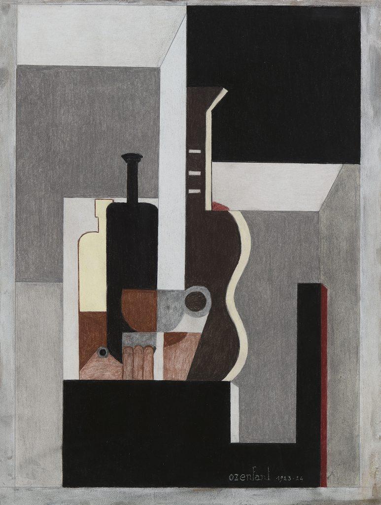 Brafa Beres Puriststilllife with Guitar