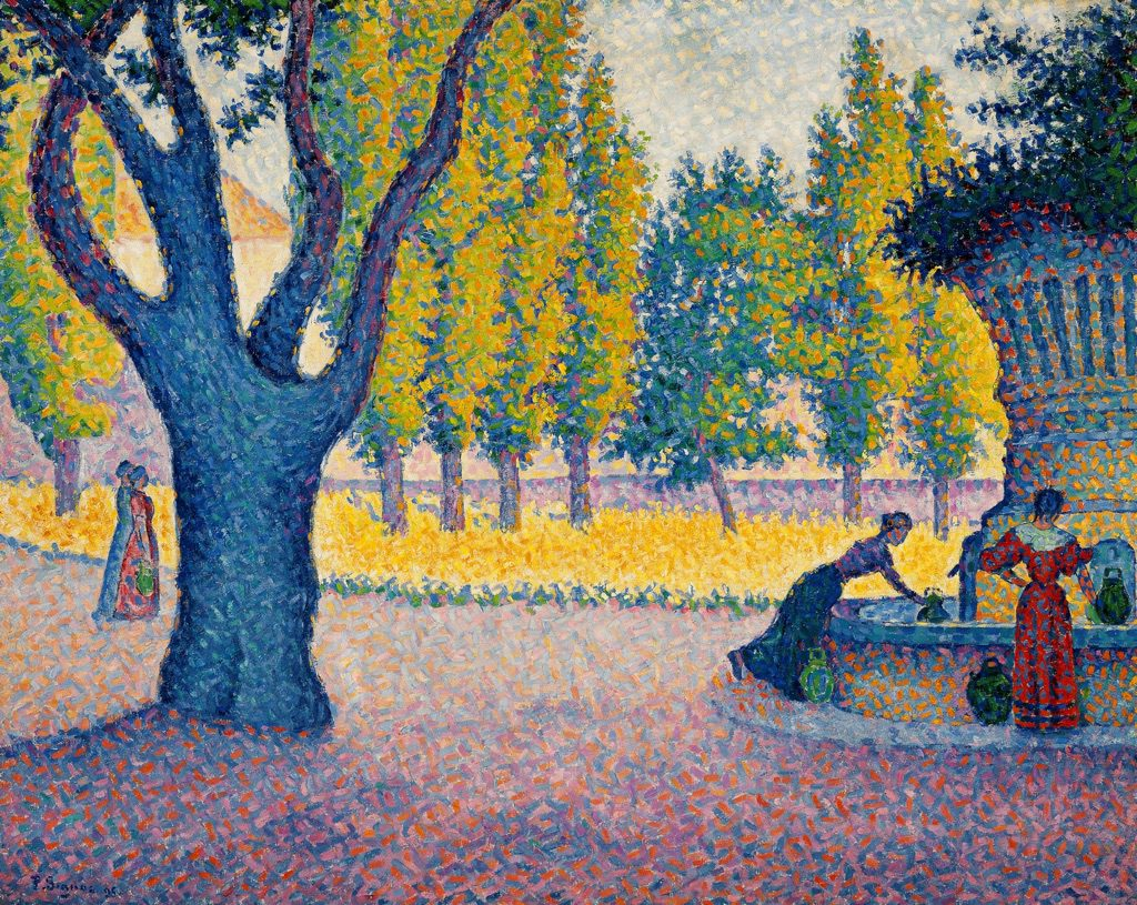 Paul Signac photo Maurice Aeschimann