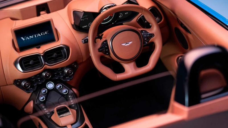 2021 Aston Martin Vantage Roadster One Of Worlds Fastest Supercars