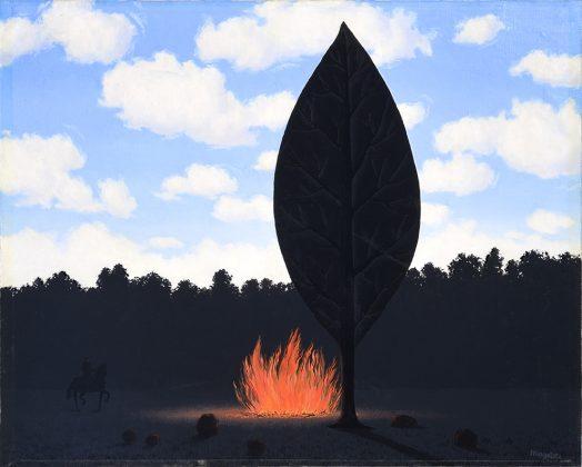Magritte La Fenetre Ouverte