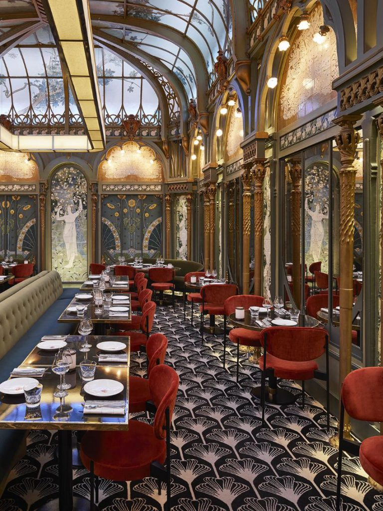 Beefbar Paris Luxury Restaurant Design By Humbert Poyet