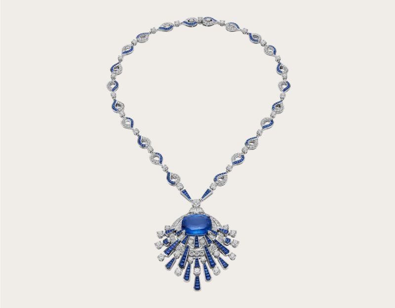 Blue Rays Necklace Bvlgari