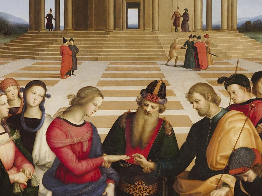 Raffaello Lo Sposalizio della Vergine