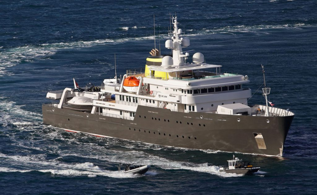 YERSIN - explorer vessel