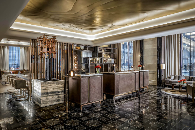 Luxury hotel interiors Inside-the-St-Regis-Toronto-hotel